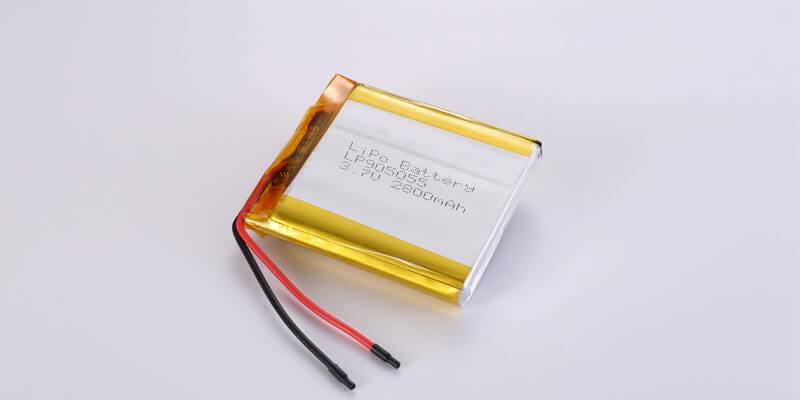 Li Polymer Battery LP905055 3.7V 2800mAh