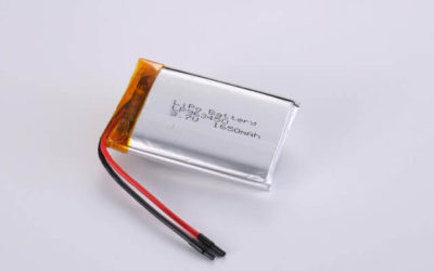 3.7V Rechargeable Li Polymer Battery LP963450 1650mAh With PCM and Wires