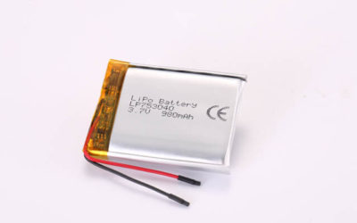 3.7V Rechargeable Li Polymer Battery LP753040 980mAh With PCM and Wires