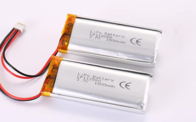 3.7V Rechargeable Li Polymer Battery Pack LP112560 2P 1800mAh With PCM and Molex 87439-0400  Connector