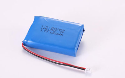 3.7V Rechargeable Li Polymer Battery Pack LP502540 2P 1000mAh With PCM and Molex Connector